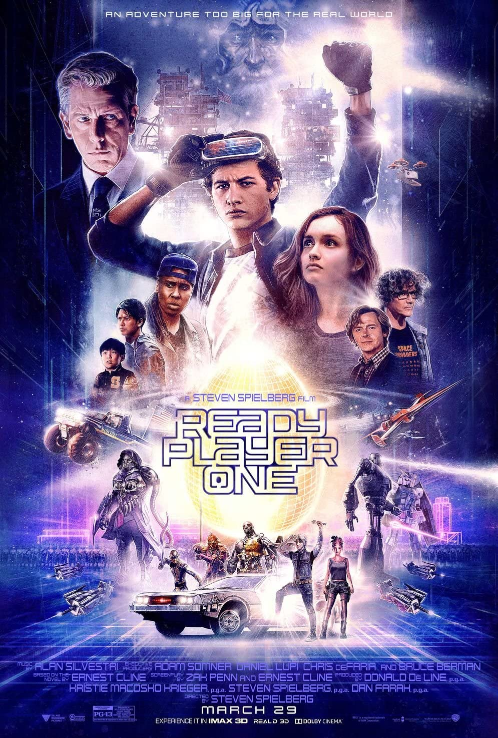 AFFICHE READY PLAYER ONE